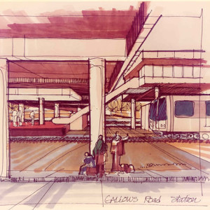 Gallows Road Station Rendering